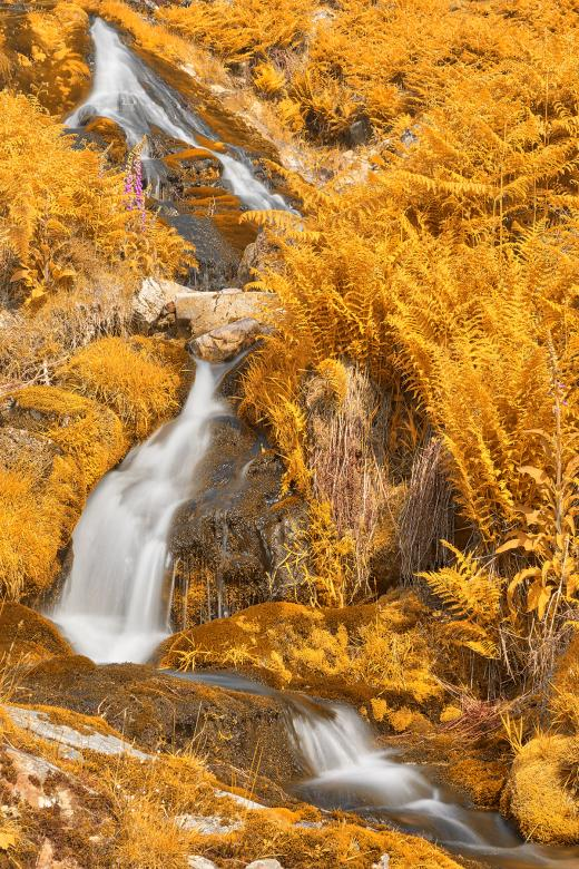 Free Stock Photo of Gold Buttermere Falls Created by Nicolas Raymond
