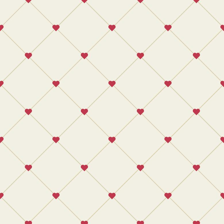 Free Stock Photo of Geometric Hearted Pattern Created by Sara