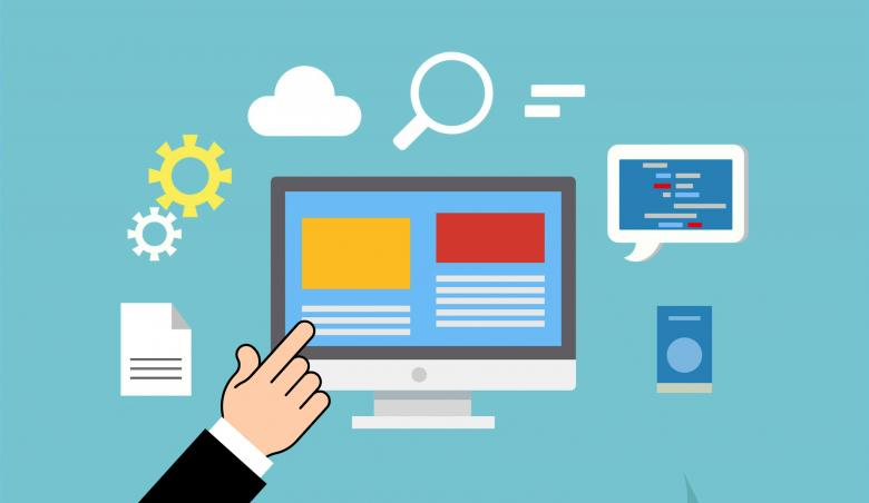 Free Stock Photo of Web Hosting Illustration Created by mohamed hassan
