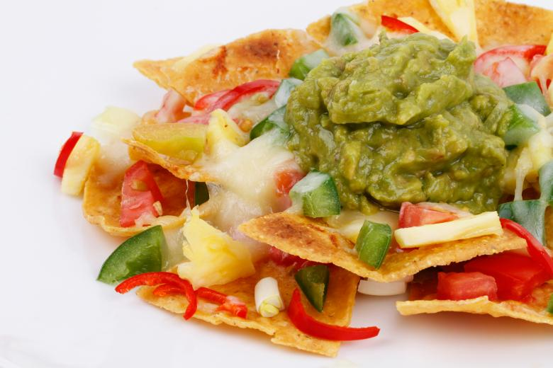 Free Stock Photo of Nachos with Guacamole Created by Suandana Ipandemade