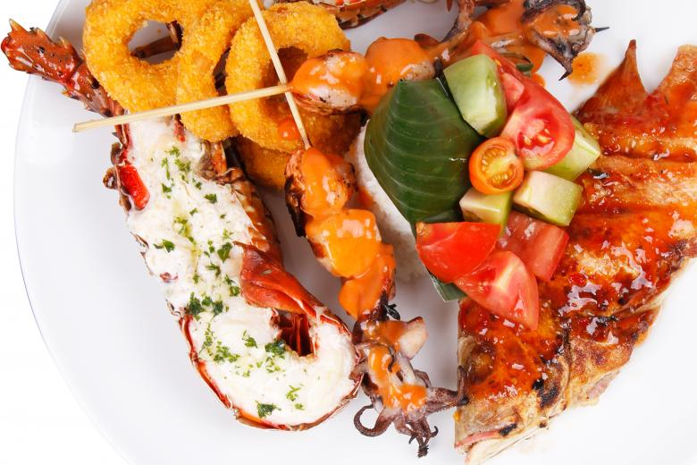 Free Stock Photo of Seafood Menu Created by Suandana Ipandemade