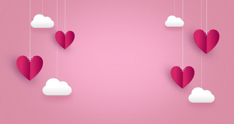 Free Stock Photo of Love Concept - Hearts - with Copyspace Created by Jack Moreh