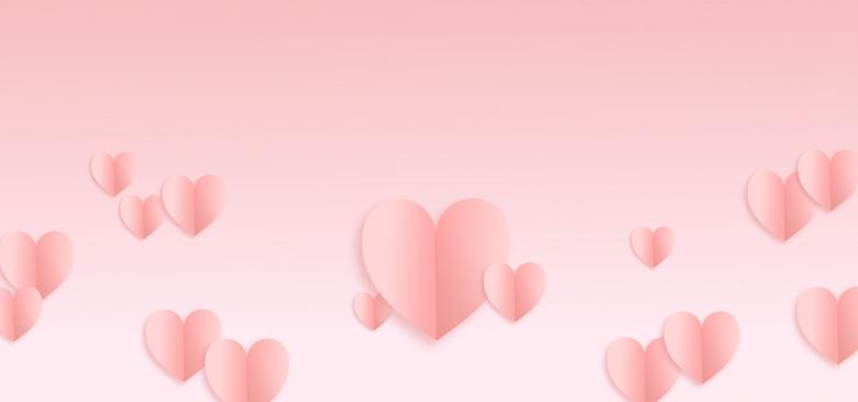 Free Stock Photo of Valentines Day Hearts Background - With Copyspace Created by Jack Moreh