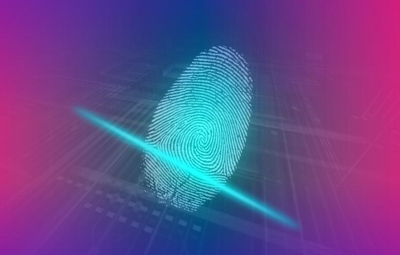 Free Stock Photo of Digital Fingerprint - Human Biometrics Created by Jack Moreh
