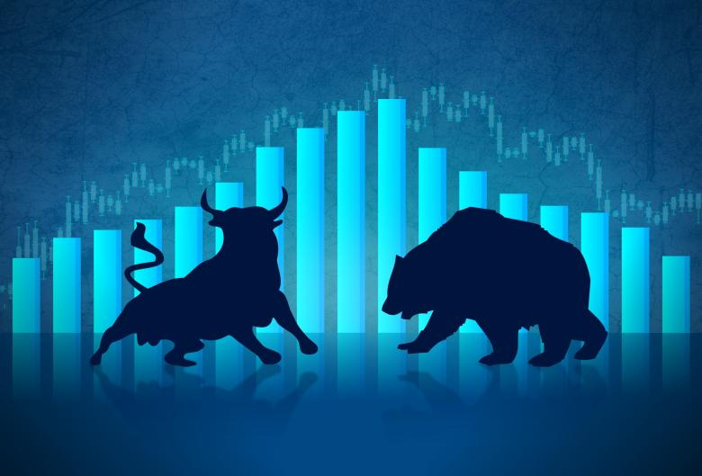 Free Stock Photo of Bull versus Bear - Financial Markets Concept Created by Jack Moreh