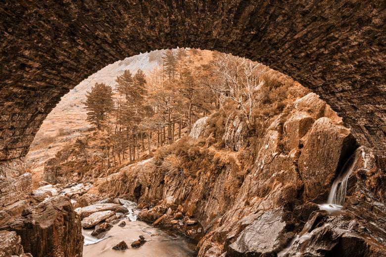 Free Stock Photo of Ogwen Earth Arch Created by Nicolas Raymond