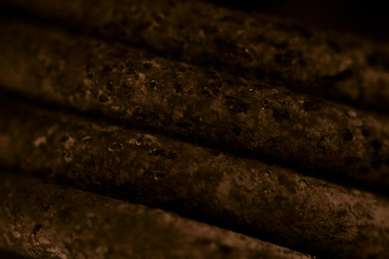 Free Stock Photo of Rusted Metal Bars Created by Bjorgvin Gudmundsson