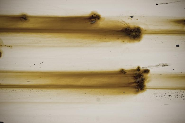 Free Stock Photo of Rusted Streaks Surface Created by Bjorgvin Gudmundsson