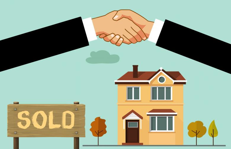 Free stock image of House Sold - Illustration created by mohamed hassan