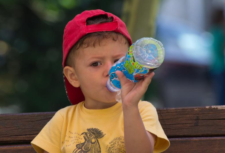 Free Stock Photo of Child drinking Created by Mircea Iancu