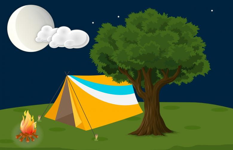 Free Stock Photo of Summer Camping Created by mohamed hassan