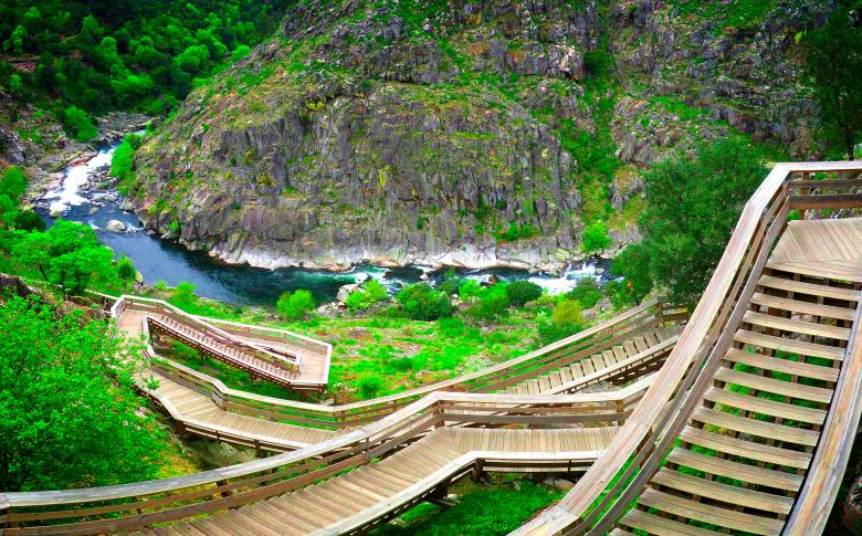 Free Stock Photo of Paiva Walkways - River Paiva - Northern Portugal Created by Jack Moreh