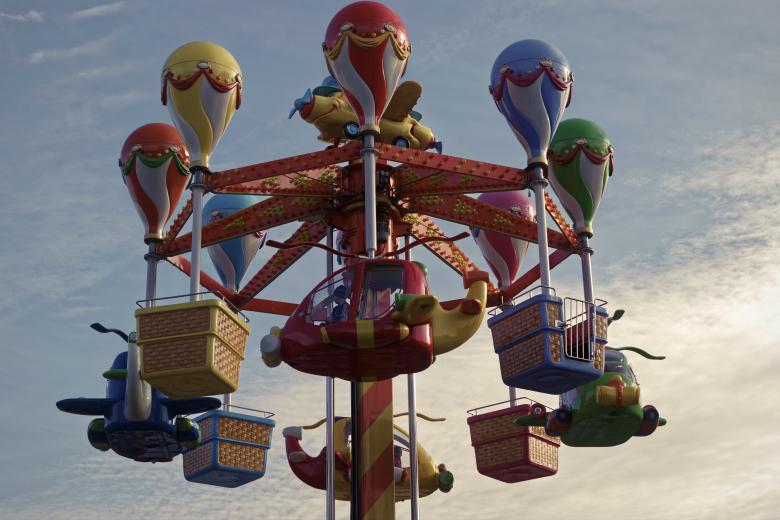 Free Stock Photo of Carousel Created by Mircea Iancu