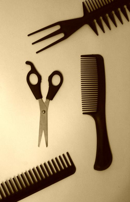 Free Stock Photo of Hairdresser's tools Created by NomeVizualizzato