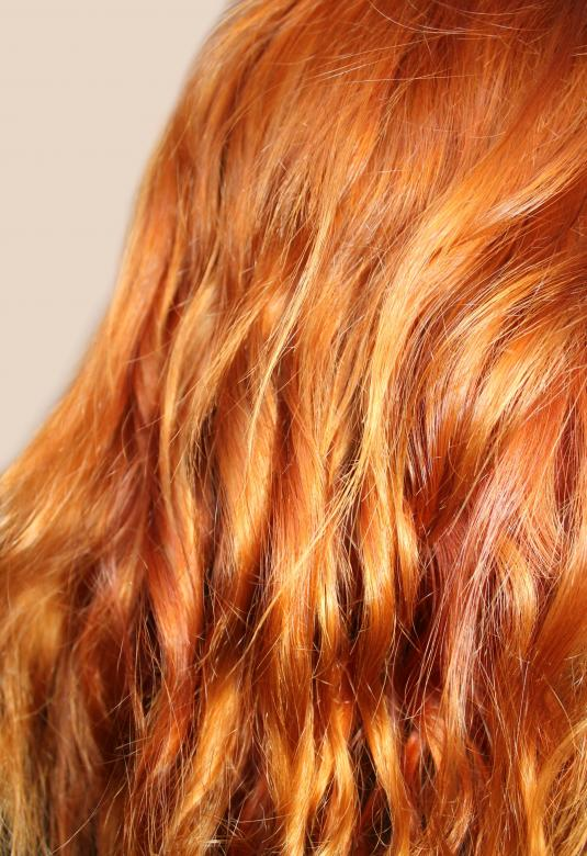 Free Stock Photo of Shining curly red hair Created by NomeVizualizzato