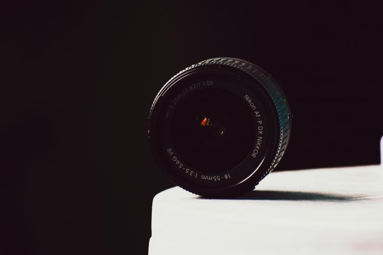 Free Stock Photo of Nikon Camera Lens Created by Mayank kumar satlewal