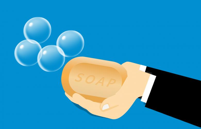 Free stock image of Washing Hands with Soap created by mohamed hassan