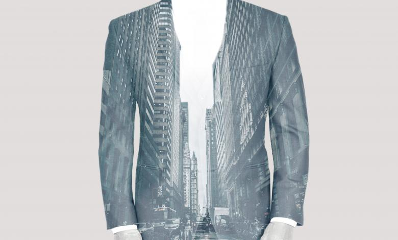 Free Stock Photo of Double Exposure of Businessman Over Cityscape Created by Jack Moreh