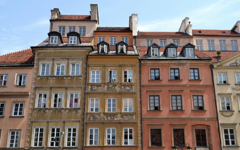 Free Stock Photo of Old Architecture in Warsaw Created by Mircea Iancu