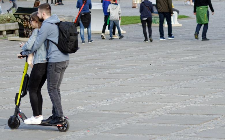 Free stock image of Young people on scooter created by Mircea Iancu