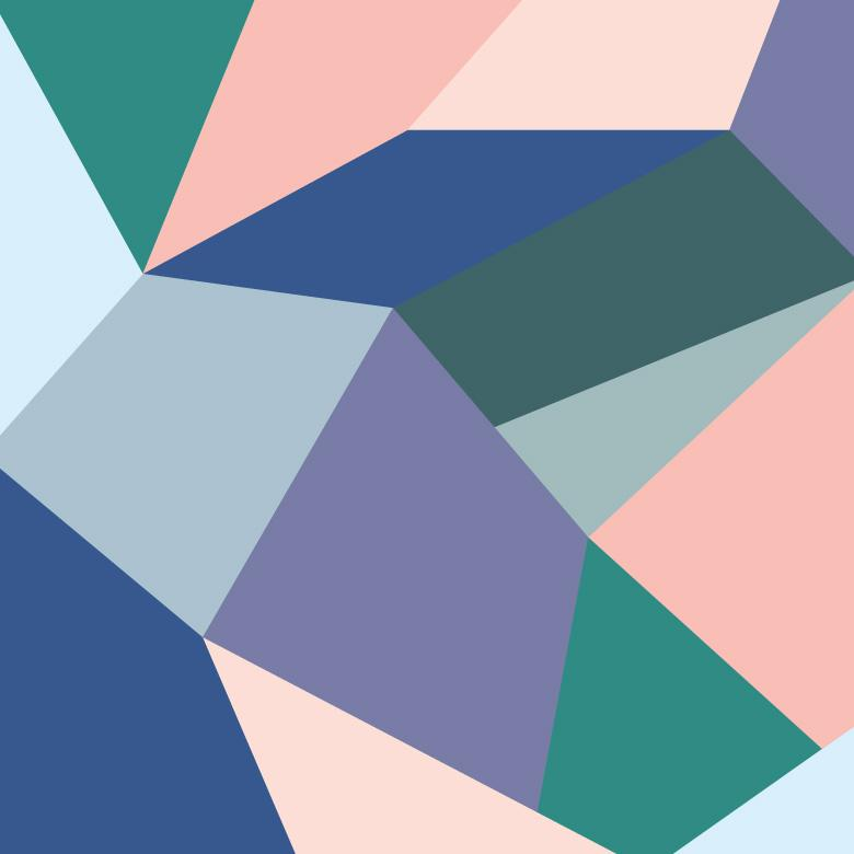 Free Stock Photo of Blue Geometrical Background Created by Sara