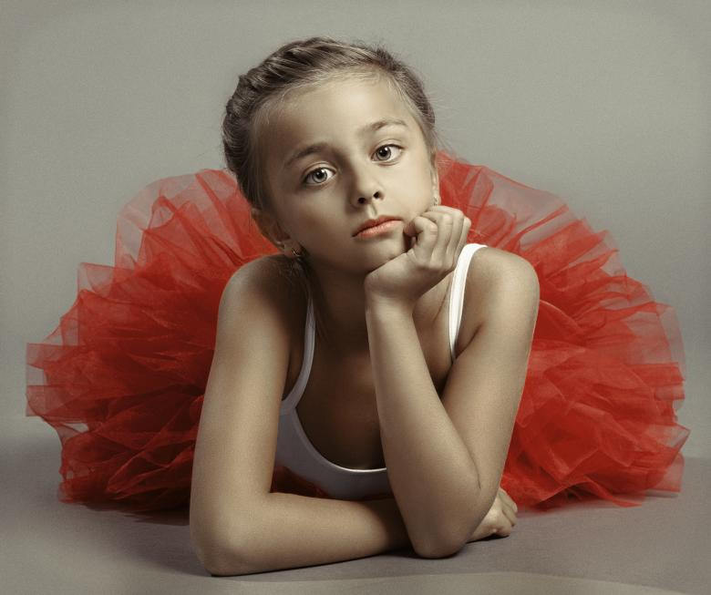 Free Stock Photo of Young Ballerina Portrait Created by Alexander Krivitskiy