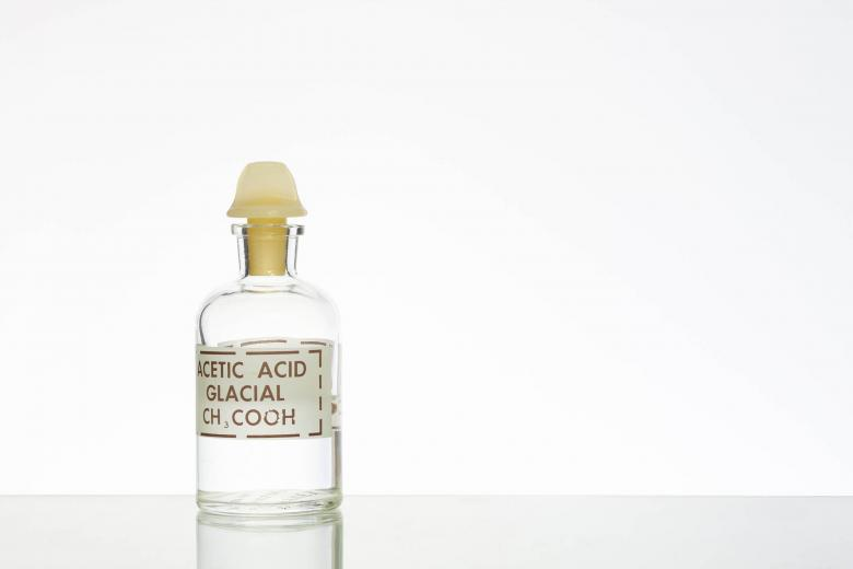 Free Stock Photo of Bottle of Acetic Acid Created by Geoffrey Whiteway