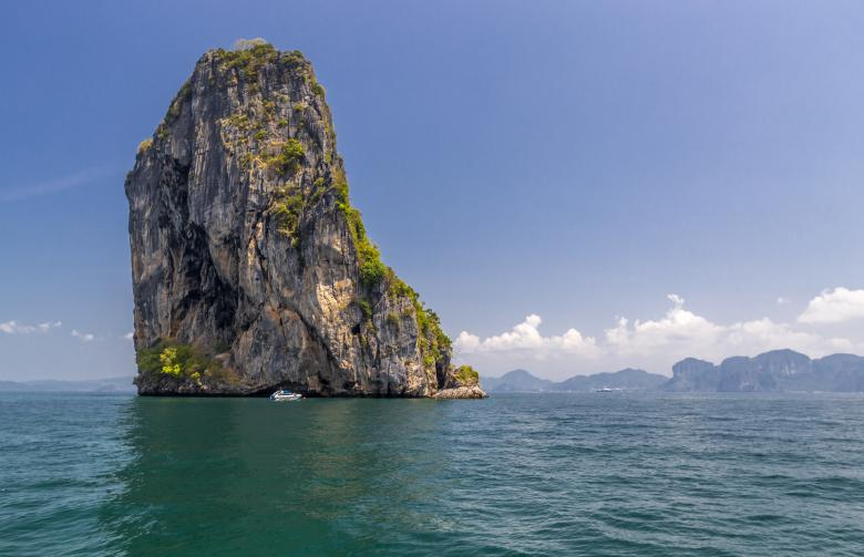 Free Stock Photo of Thailand Cliff Island Created by Erik Karits