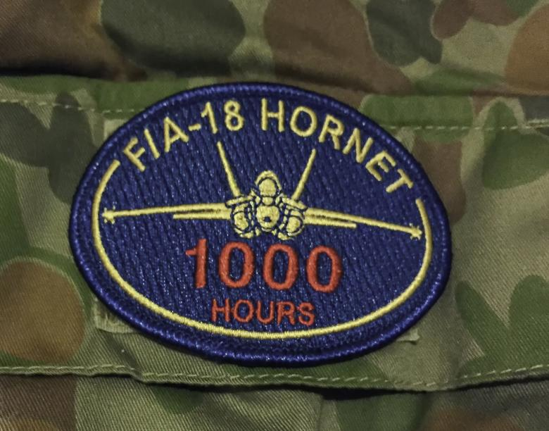 Free Stock Photo of F/A-18 Hornet Patch Created by John Torcasio