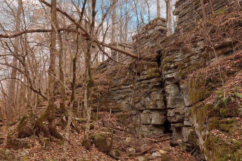 Free Stock Photo of Old Tennessee Forest Ruins Created by Nicolas Raymond