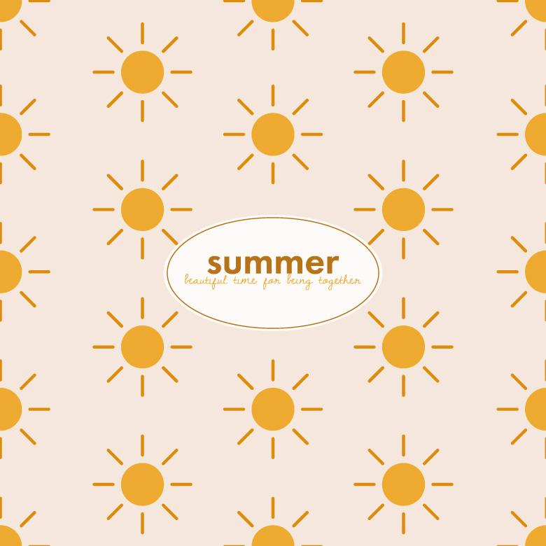 Free Stock Photo of Sunny Summer Pattern Created by Sara