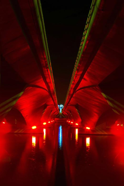 Free Stock Photo of Under the Bridge Created by sapiduduk