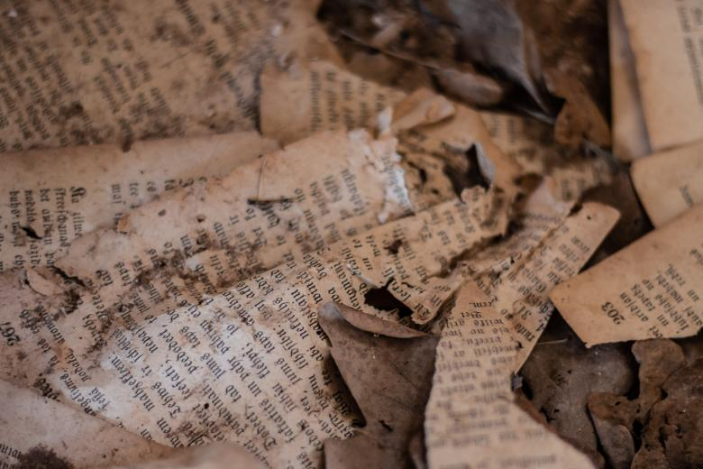 Free Stock Photo of Old paper pages Created by Janis Urtans