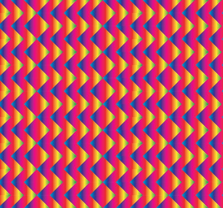 Free Stock Photo of Bright red and blue zigzag pattern Created by Ivan