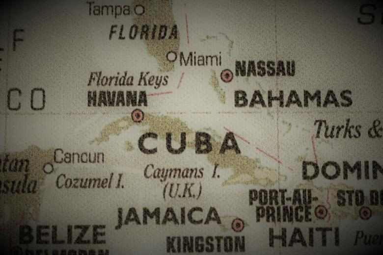 Free Stock Photo of Old Map of Cuba Created by Ivan