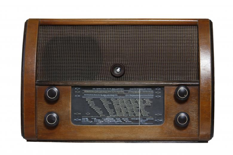 Free Stock Photo of Vintage 1950 Radio Created by Gusztáv Galló