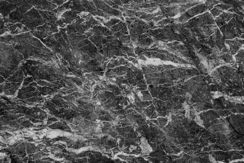 Free Stock Photo of Black and White Marble Texture Created by Ivan