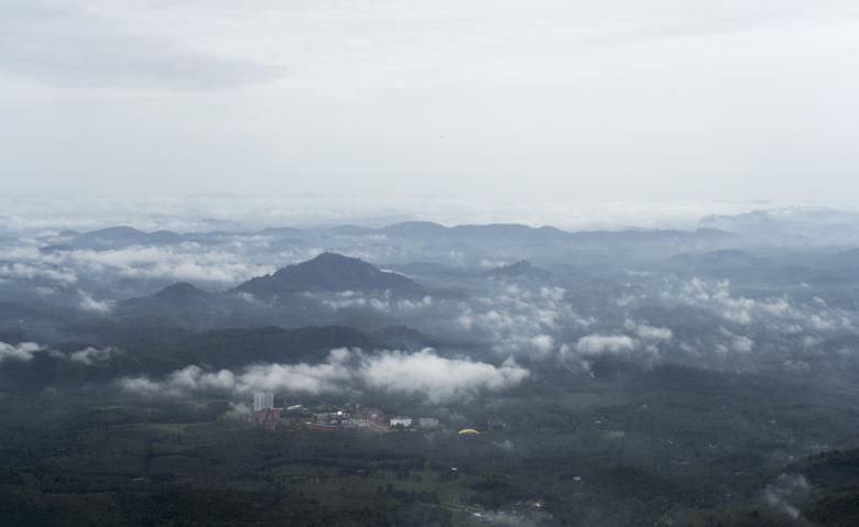 Free Stock Photo of Aerial view of Kerala, India Created by Arshid Bin Basheer