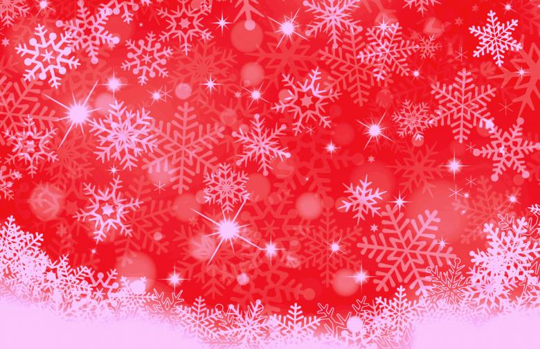 Free Stock Photo of Christmas Background - Falling Snowflakes Created by Jack Moreh